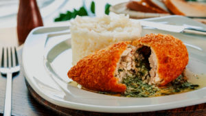 Chicken Kiev - food of Ukraine