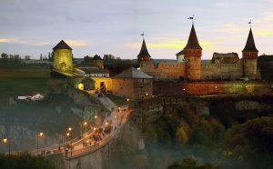 Kamenets Podolskyy castle in Ukraine