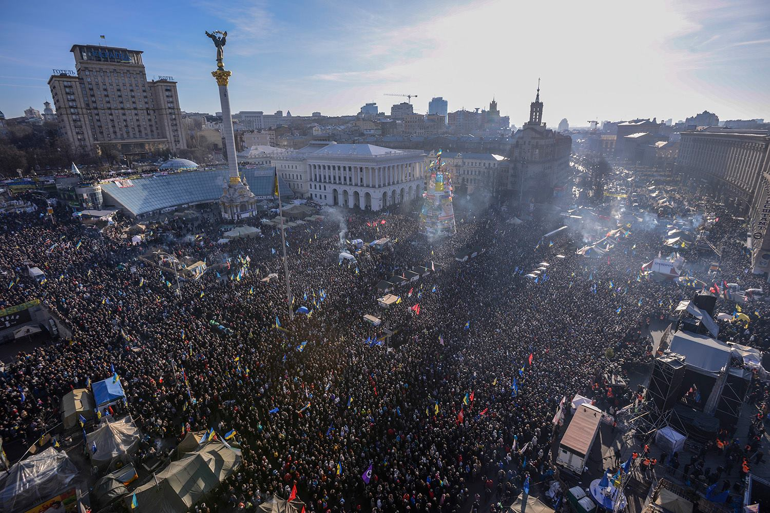 Euromaidan or Revolution of dignity