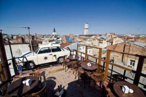 Rooftop in Lviv