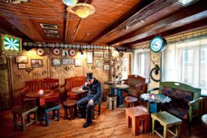 Cafe in Lviv