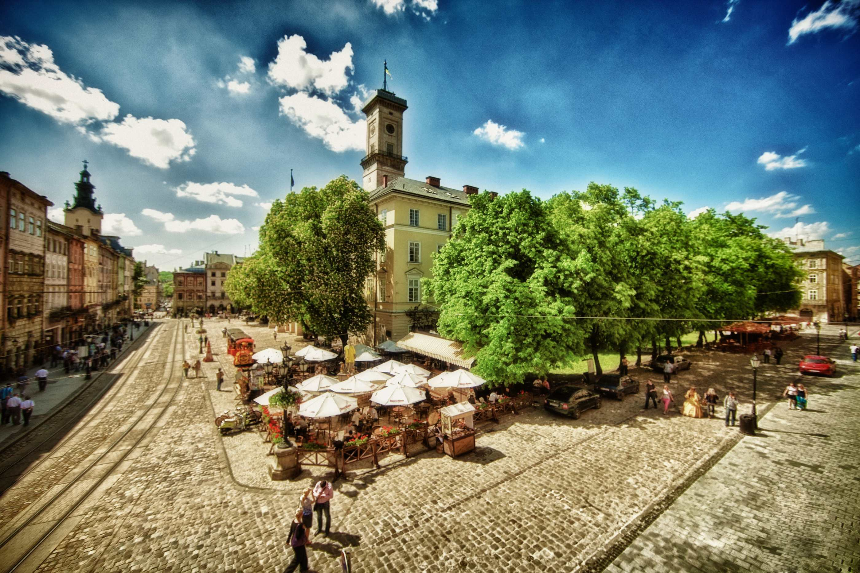 Center of Lviv