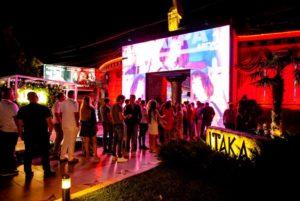 Itaka nightclub in Odesa