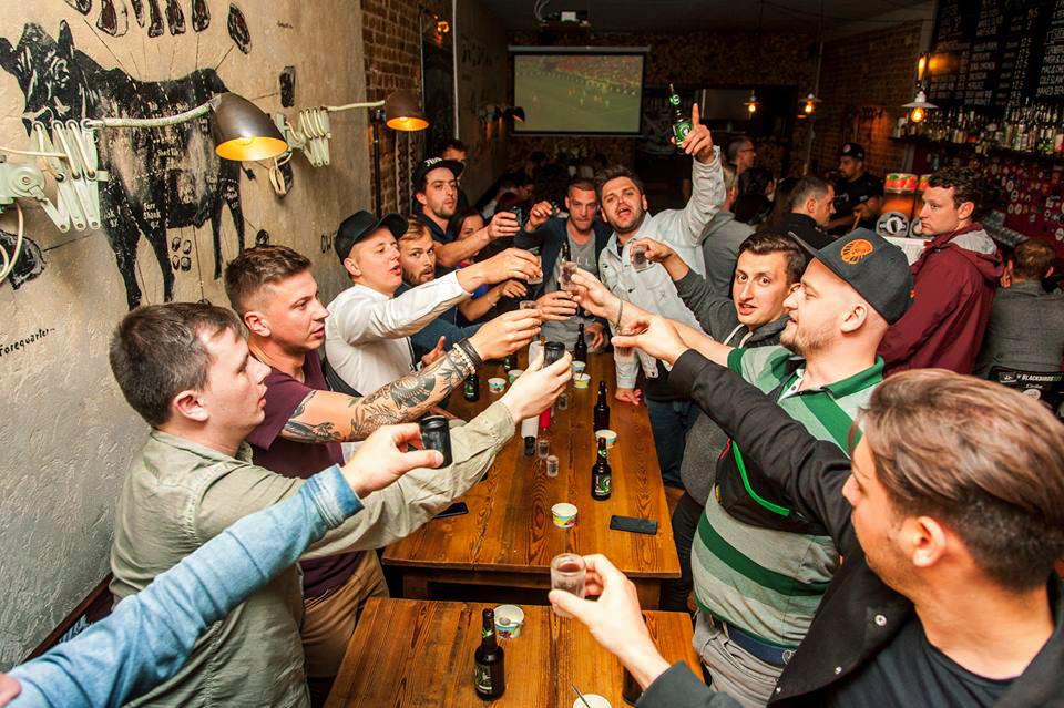Pub Crawl in Kiev