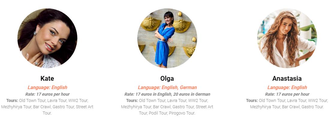 Best City Tour Guides in Kiev