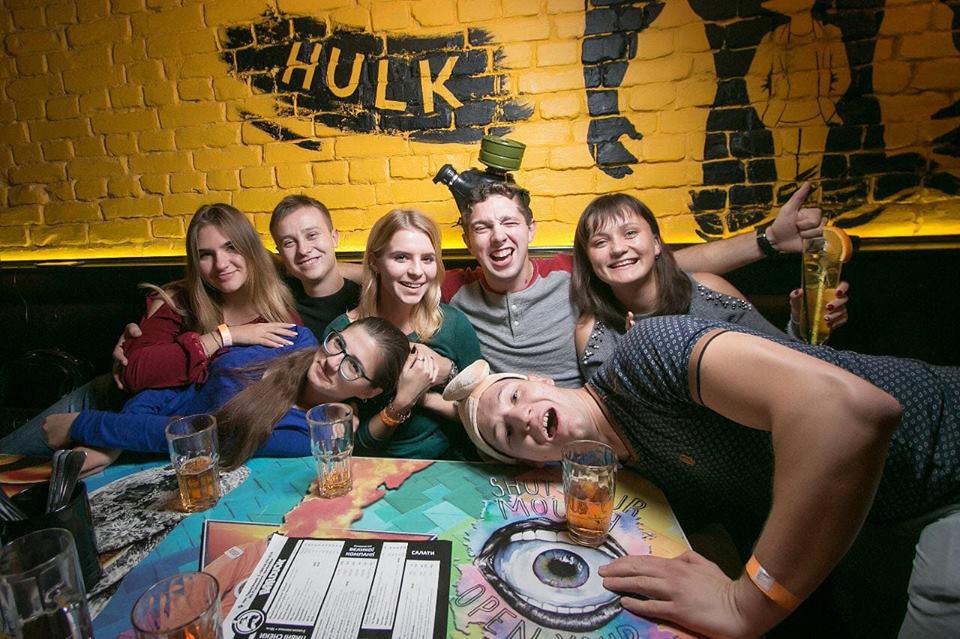 Friends from Germany in Kiev