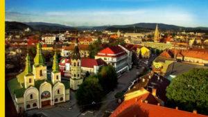 Sightseeing in Ukraine - Mukachevo city
