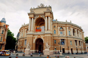 Opera House in Odessa - the main attraction