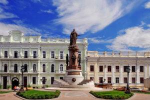 Center of Odessa