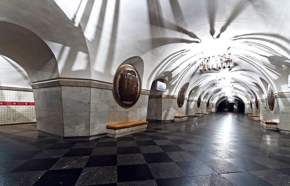 Metro stations in Kiev