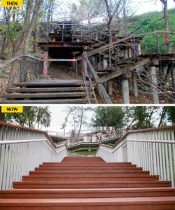 Stairs in Kiev