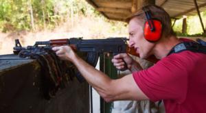 Kiev Shooting Range - Military Tour