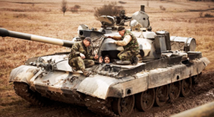 Kiev Tank Driving - Military Tour