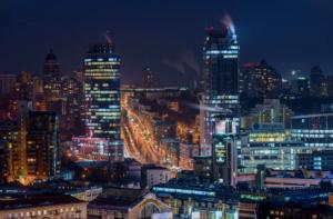 Kyiv by night