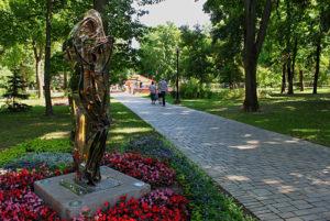 Walk in Kiev when it's a good weather