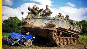 Tank Driving in Kiev