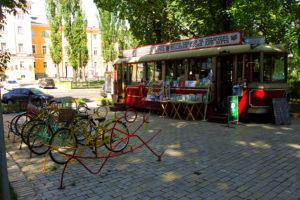 Beautiful parks of Kiev