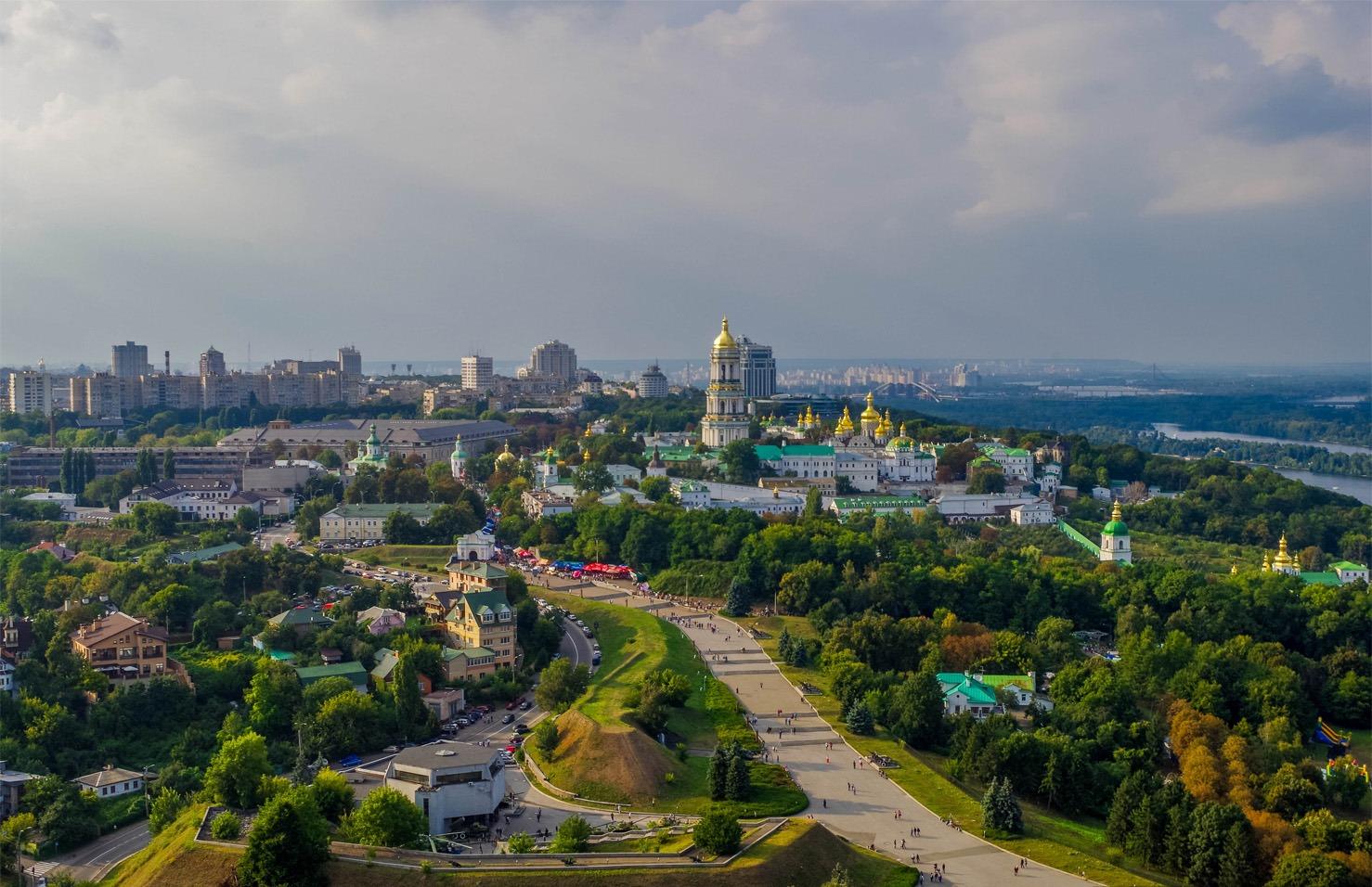 Pechersk Lavra Monasrery in Kiev