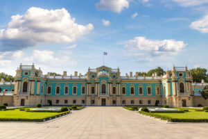 Parks and architecture in Kiev