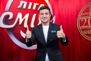 A comedian could be Ukraine's next president