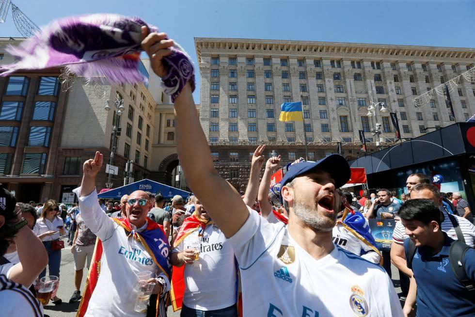the Champions League Final in Kiev