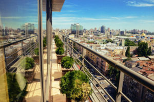 Hotels in Kiev with beautiful view