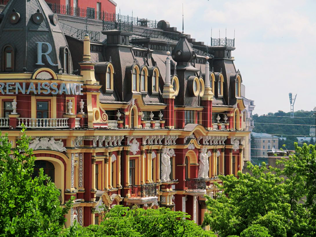 what to see in Kiev - beautiful mansions