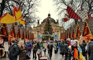 Lviv on Christmas