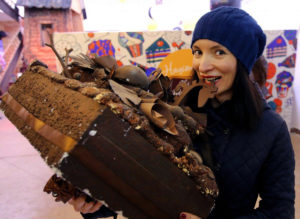 Lviv is a city of coffee and chocolate