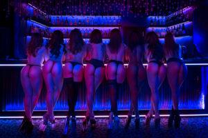 Sexy Ukrainian girls at Princess Strip club