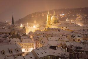 Lviv in winter