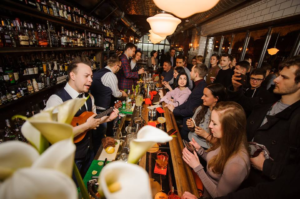 Parovoz Speak Easy Bar Kiev