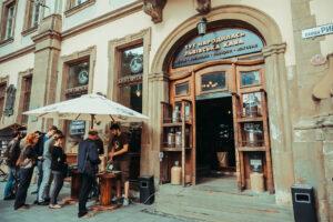Coffee in Lviv