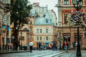 Cities in Ukraine