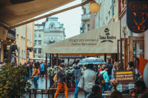 City of Lviv in Ukraine