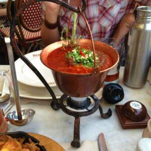 Ukrainian food in Lviv